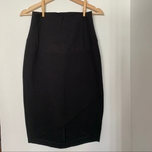 Thyme Maternity Black Pencil Skirt - size Small